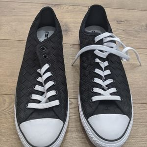 New Mens Converse braided style  black shoes